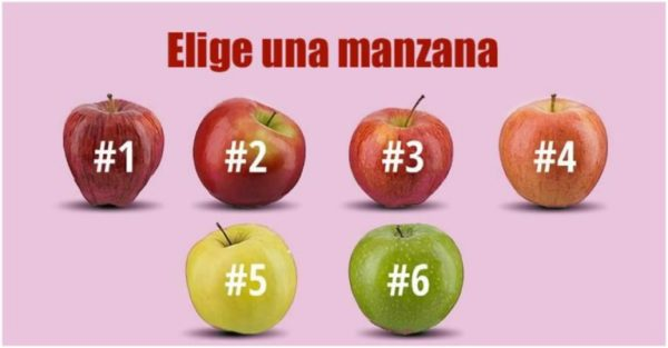 Elige una manzana y descubre a qué sabe tu vida