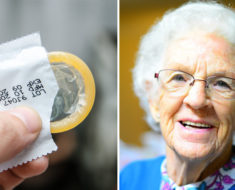 Viejita quiere comprar 12 condones en la farmacia, el cajero se desmaya al escuchar la razón