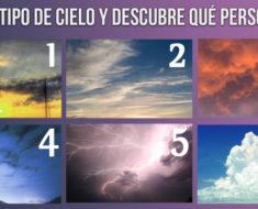 Elige un cielo y descubre tu personalidad oculta…