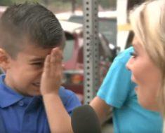 ¡Era su primer día de escuela y era feliz, hasta que le preguntaron esto!
