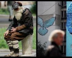 Hombre de 103 años regala el dinero que gana mendigando en la calle