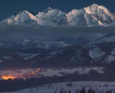 La magia del invierno en las montañas polacas