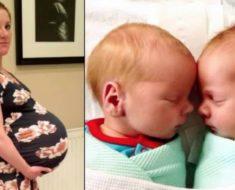 Madre da a luz a gemelos – pero mira que pasó cuando los suben al peso