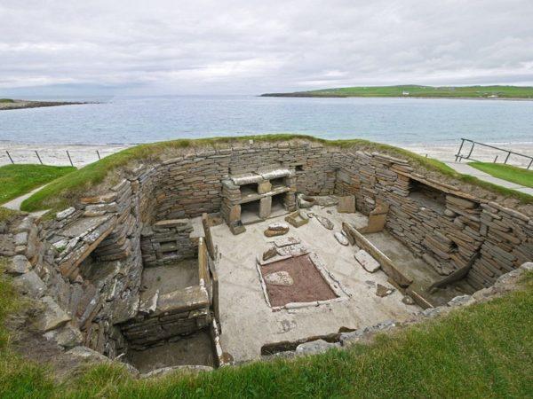 skara brae escocia pueblo prehistorico