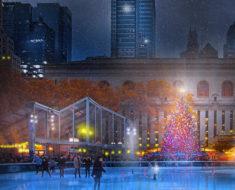 Magicas Fotos de la Navidad en Nueva York