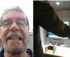 Hombre encuentra 500 dólares en un cajero y lo que ocurre después te dejara sin palabras
