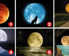 El Test de la Luna de un reconocido psicólogo. Elige una Luna y descubre tu personalidad oculta