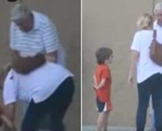 Anciano deja caer sus compras y esta madre le ayuda – Cuando descubre el engaño rompe en llanto