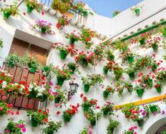 Festival internacional de las Flores en Córdoba, España