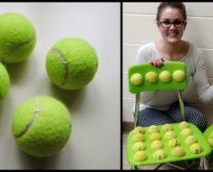 Profesora pega pelotas de tenis a las sillas de sus estudiantes – la razón es absolutamente brillante