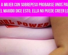 Cajera ve a mujer con sobrepeso probarse pantalones: oye lo que dice el marido y no puede creerlo