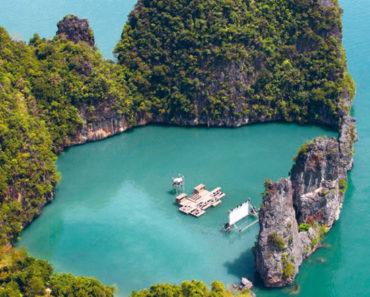 Esta isla en Tailandia cuenta con su propio cine flotante