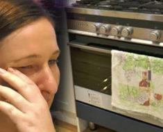 Marido deja a esposa embarazada y desaparece sin dejar rastro: Luego ella descubre algo en el horno