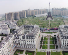 replica de paris en china