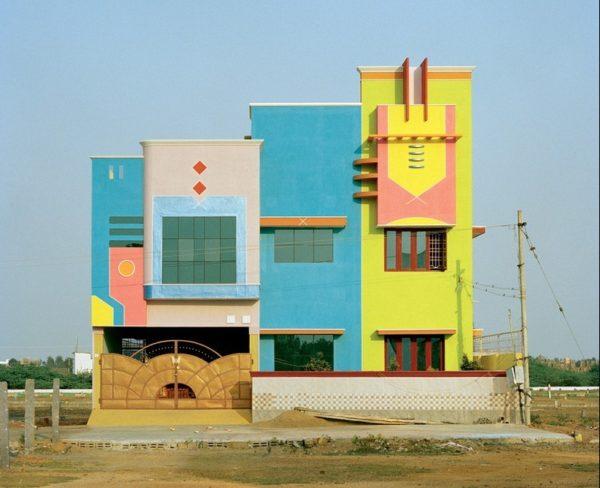 Las coloridas casas del dise ador ettore sottsass en tamil - Grupo memphis ...