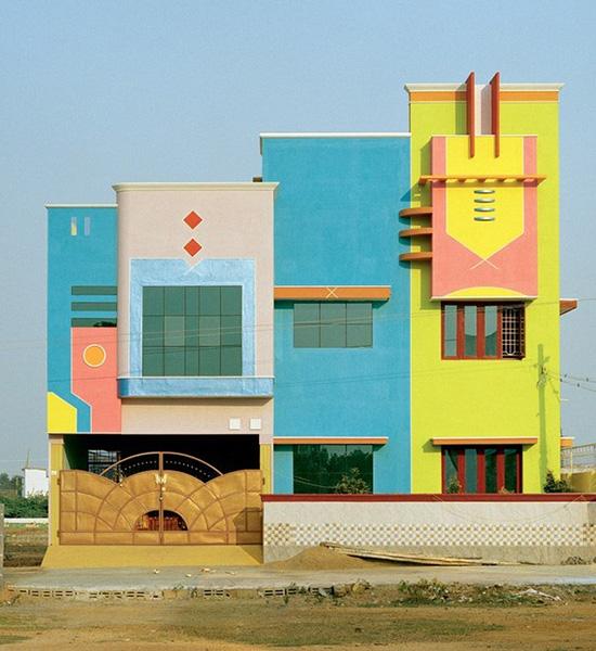 Las coloridas casas del dise ador ettore sottsass en tamil - Disenador de casas ...