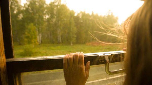 Un tren ruso para todos los días en mitad de la nada por esta conmovedora razón