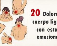 20+ Dolores del cuerpo que están ligados con estados emocionales