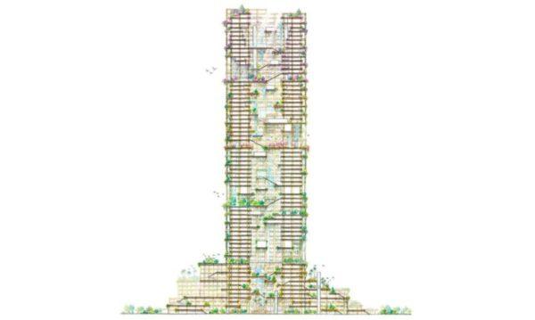Tokio tendrá el rascacielos de madera más grande del mundo