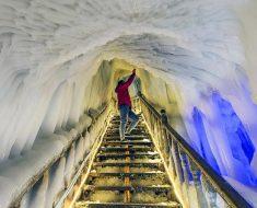 cueva de wang niandong en el condado de ningwu china