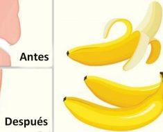 Esto es lo que le pasa a tu cuerpo si solo comes plátanos por 4 días