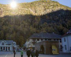 Los gigantescos espejos solares de Rjukan