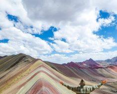 La Montaña de siete colores o Arco Iris en Perú