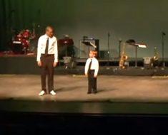 Cuando este niño de 6 años subió al escenario a bailar, nadie pudo dejar de aplaudir