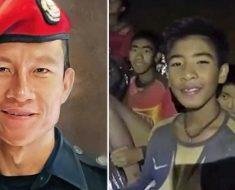 Así homenajean al héroe que se sacrificó por salvar a los niños atrapados en Tailandia