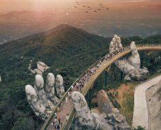 puente cau vang dan nang manos gigantescas