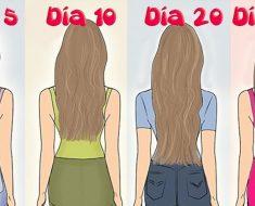 ¿Cómo hacer crecer el pelo más rápido?