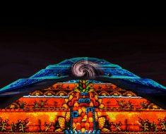 Experiencia nocturna en Teotihuacán 2018