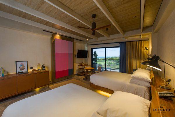 hotel ESTUDIO Playa Mujeres habitacion