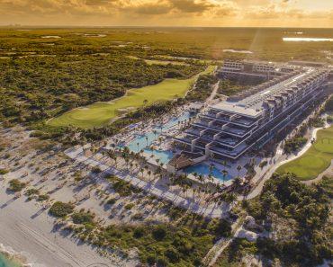 hotel ESTUDIO Playa Mujeres panoramica
