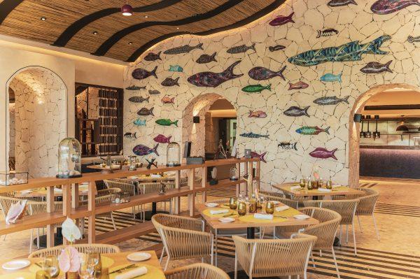 hotel ESTUDIO Playa Mujeres restaurante