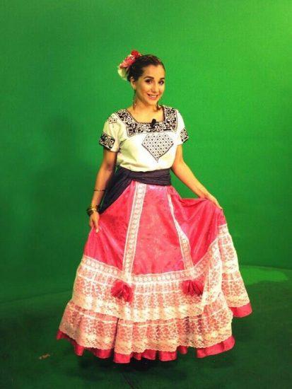 Trajes típicos de Campeche para mujer