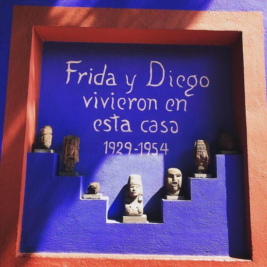 entrada casa azul museo frida kahlo