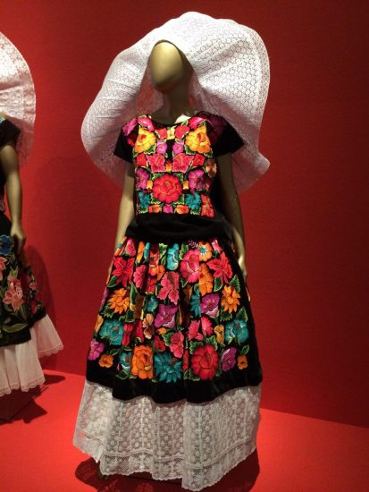 vestido tipico oaxaca tehuana