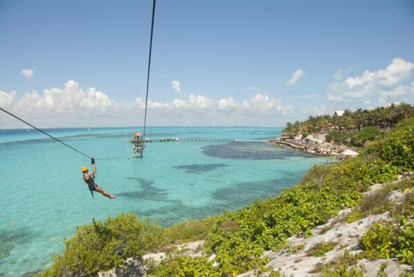 zipline en cancun